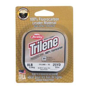 berkley trilene 100% florocarbon clear