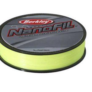 berkley nanofil hi-vis chartreuse