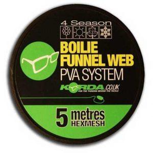 Korda-boilie-funnel-web-hexmesh-5m