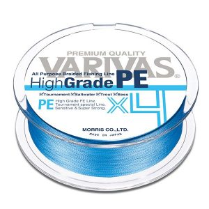 Varivas HIGH GRADE PE X4 WATER BLUE