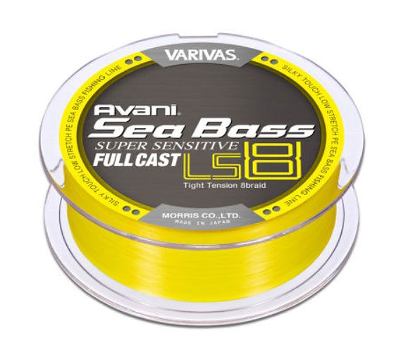 Varivas SEA BASS PE SENSITIVE FULLCAST