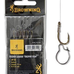 Browning FEEDER TROPHY FISH HOOK-TO-NYLON BRONZE
