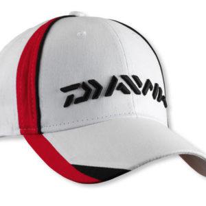 Daiwa CAP WHITE/RED (18205-006)