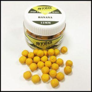 Steg POP UP SMOKE BALL 12mm BANANA 40gr (SP171230)