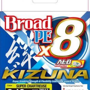 Owner KIZUNA BROAD PE X8 ALB 135m 0.13mm CHARTREUSE