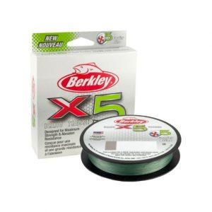 Berkley BRAIDED LINE X5 BRAID LOW-VIS GREEN