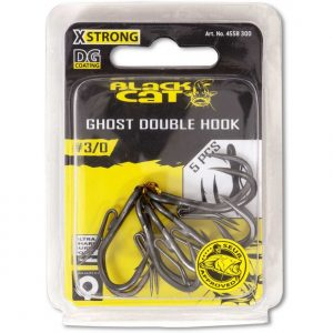 Black Cat GHOST DOUBLE HOOK DG 4/0
