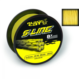 Black Cat S LINE 300m 0,55mm YELLOW (2352055)