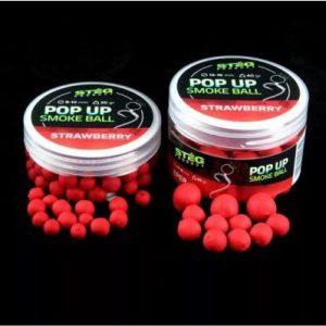 Steg POP UP SMOKE BALL 8-10mm STRAWBERRY 20g (SP170902)