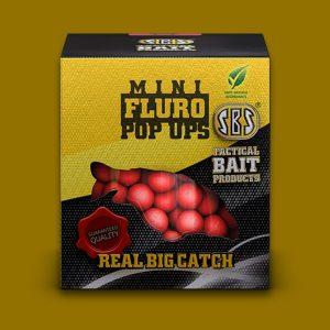 SBS mini fluro pop up 8mm 20gr
